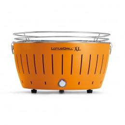 Lotus Grill XL Barbecue senza fumo a carbonella Arancio