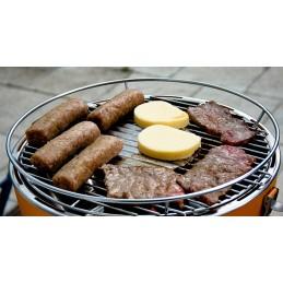 Lotus Grill Barbecue senza fumo a carbonella Grigio