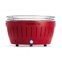 Lotus Grill XL Barbecue senza fumo a carbonella Rosso