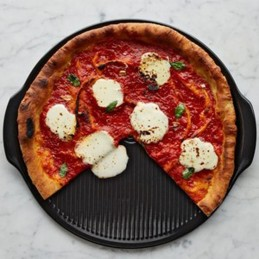 Emile Henry Cuoci Pizza 37 cm Fusain EH799514