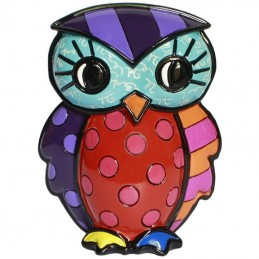 Romero Britto Figurina Gufo Wisdom 333368
