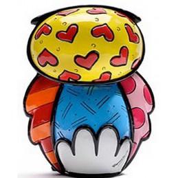 Romero Britto Figurina Gufo Strenght 333369