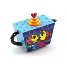 Romero Britto Figurina Mini Teiera Deeply in Love 334191