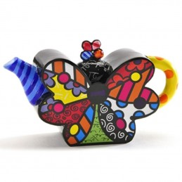 Romero Britto Figurina Mini Teiera Butterfly 334192