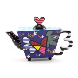 Romero Britto Figurina Mini Teiera Flying Heart 334195