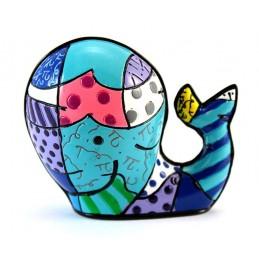 Romero Britto Figurina Mini Balena 331844