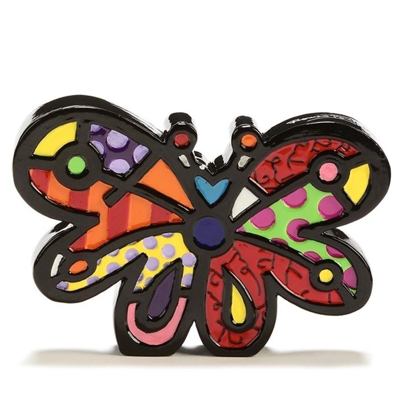 Romero Britto Figurina Mini Farfalla 334124