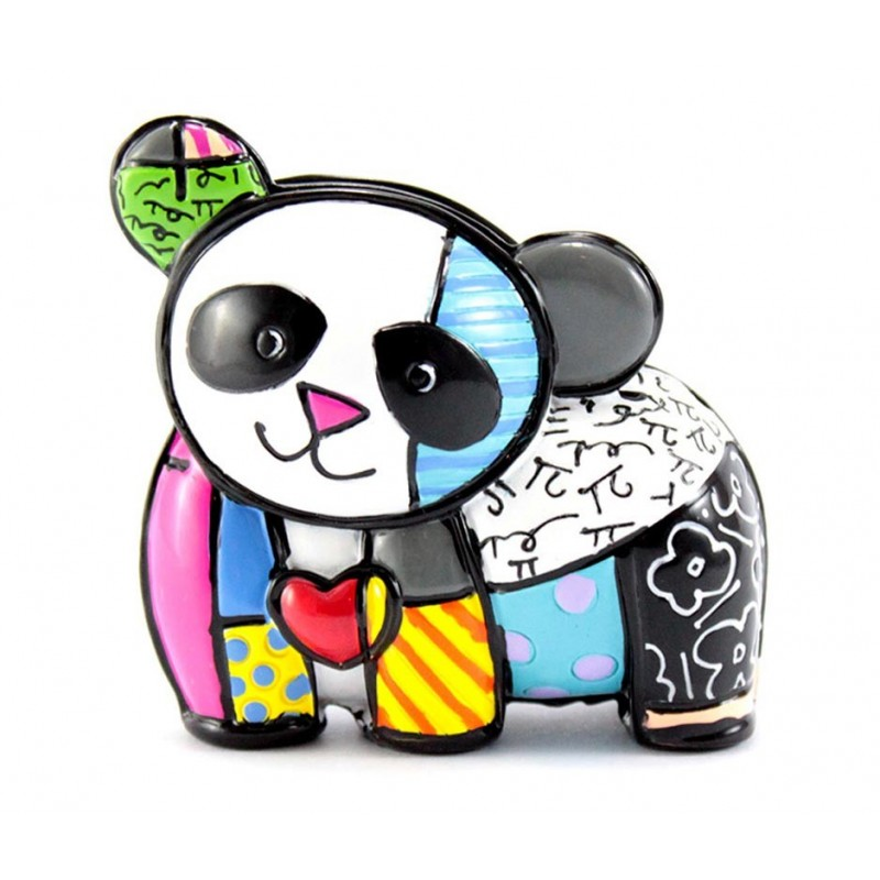 Romero Britto Figurina Mini Panda 334119
