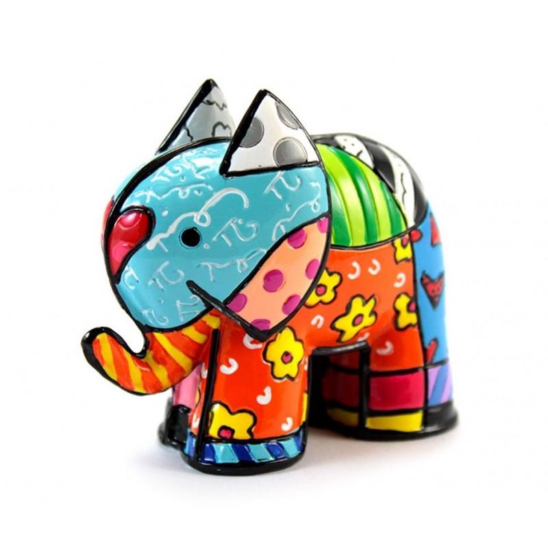Romero Britto Figurina Mini Elefante India 331843