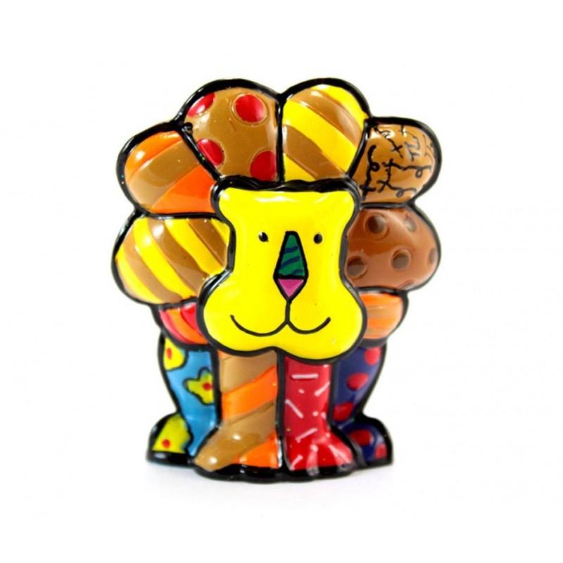 Romero Britto Figurina Mini Leone 331846