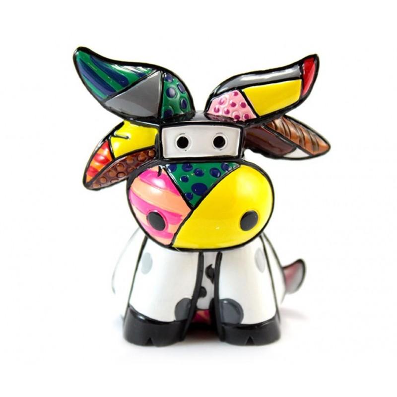 Romero Britto Figurina Mini Mucca 331842