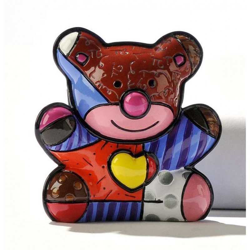 Romero Britto Figurina Mini Orsetto 331389