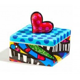 Romero Britto Scatolina quadrata Heart 334313