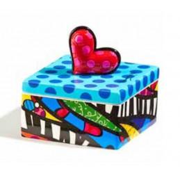 Romero Britto Scatolina quadrata Heart 334313