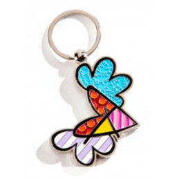 Romero Britto Portachiavi Flying Heart 334394