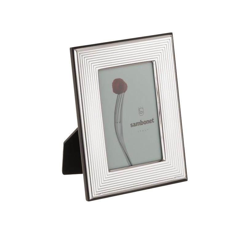 Sambonet Cornice Cesello Carrè 10 x 15 cm Argento Bilaminato