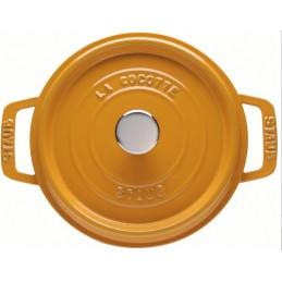 Staub Cocotte Tonda 24 cm Nero
