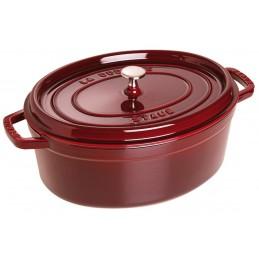 Staub Cocotte Ovale 29 cm Rosso Granato