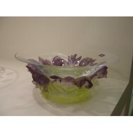 Daum Crystal Iris Coppa in Cristallo 26,5 cm 02751