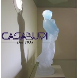 Daum Crystal La Madre e il Bambino in Cristallo 03159