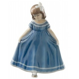 Royal Copenhagen Ballerina mini blu 5021084
