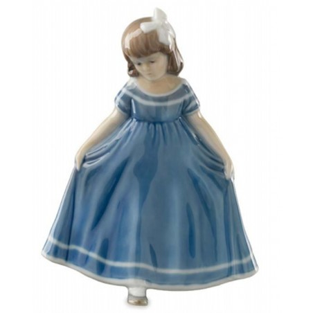 Royal Copenhagen Ballerina mini blu 5021084
