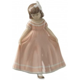 Royal Copenhagen Ballerina mini rosa 5021085