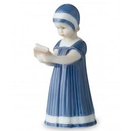 Royal Copenhagen Statuina Elsa con Libro Mini 1021077