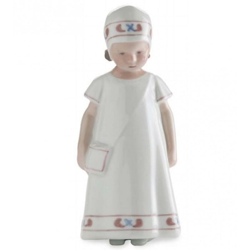 Royal Copenhagen Elsa con vestito bianco 1021404