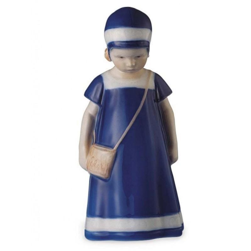 Royal Copenhagen Elsa con vestito blu 1023404
