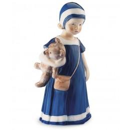 Royal Copenhagen Statuina Elsa con Orsetto 1021671