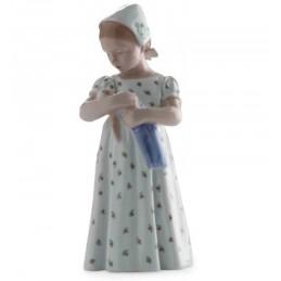 Royal Copenhagen Mary con vestito bianco 1021561