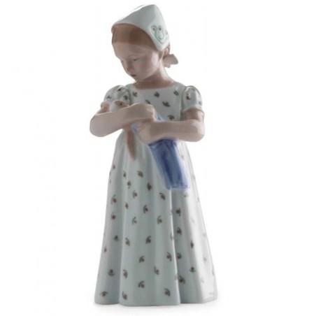 Royal Copenhagen Statuina Mary con Vestito Bianco 1021561