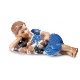 Royal Copenhagen Elsa che legge mini 5021089