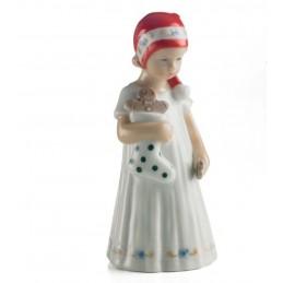 Royal Copenhagen Statuina Elsa Bianca con Calza Mini 5021093