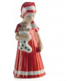 Royal Copenhagen Statuina Elsa Rossa con Calza Mini 5021092