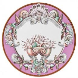 Versace Les Étoiles de la Mer Piatto Segnaposto 33 cm Viola