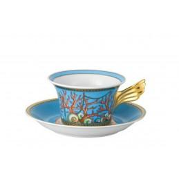 Versace Les Trésors de la Mer Tazza Tè con Piattino