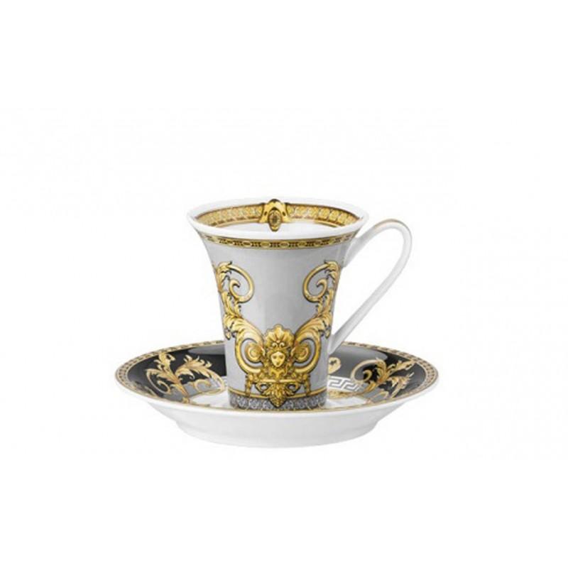 Versace Prestige Gala Tazza Caffè Espresso con piattino