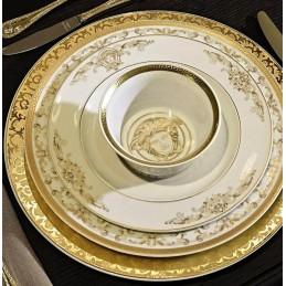 Versace Medusa Gala Piatto Piano 22 cm