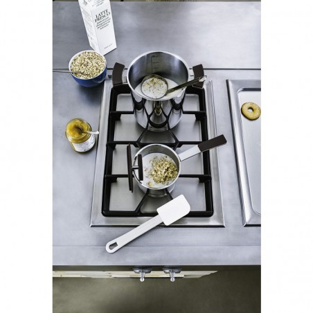 Sambonet 12'O'Clock Grey Casseruola alta 1 manico 12 cm con coperchio