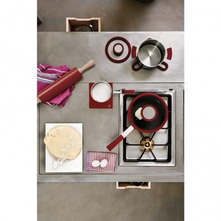 Sambonet 12'O'Clock Red Casseruola alta 1 manico 14 cm con coperchio