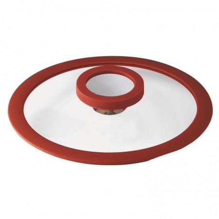 Sambonet 12'O'Clock Red Casseruola alta 24 cm con coperchio