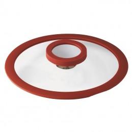 Sambonet 12'O'Clock Red Casseruola bassa 24 cm con coperchio