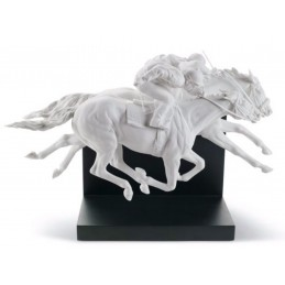 Lladrò Statua Corsa di Cavalli-Horse Race 01008515 Serie Limitata