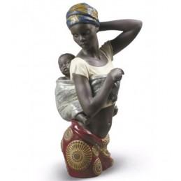 Lladrò Statua Sapore Africano-African Bond 01009159