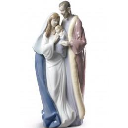 Lladrò Statua Sacra Famiglia-Blessed Family 01009218