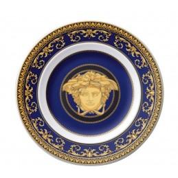 Versace Rosenthal Medusa Blue Plate 18 cm