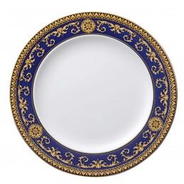 Versace Rosenthal Medusa Blue Plate 27 cm