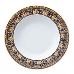 Versace Rosenthal Medusa Blue Soup Plate 22 cm